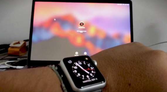 Unlocking your Mac with your Apple Watch