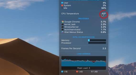 Keeping Your MacBook Temperature Acceptable