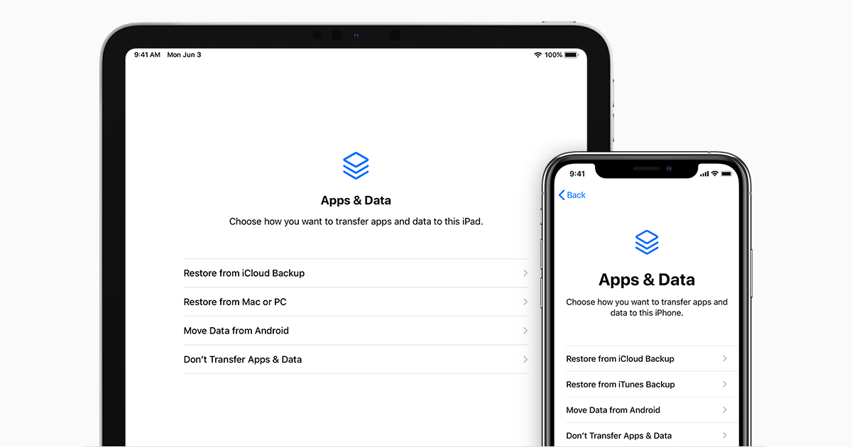 If You Can't Back up iOS or iPadOS Device to a Computer or Restore It from a Backup